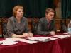 Председатель районного Собрания депутатов А.С.Заседателева и глава района С.А.Котлов